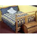 Blue Moon Crib Bedding