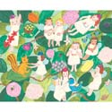 Busy Fairies Stretched Art