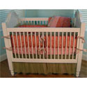 Princess Brocade Crib Bedding Set