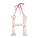 Pretty Pink Floral Letters