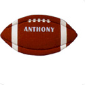 Personalized Football Wall Hanging