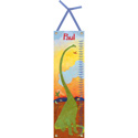 Long Neck Dinosaur Personalized Growth Chart