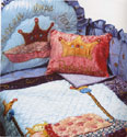 Pea Princess Crib Bedding