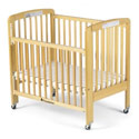 Full Size Foldable Crib w/ Dropside