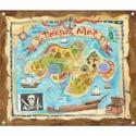 Treasure Map Canvas Art
